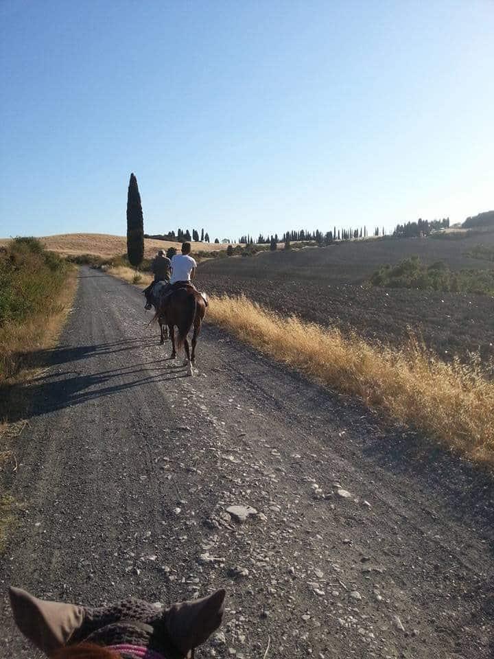 Trekking di cinque giorni per Cecina