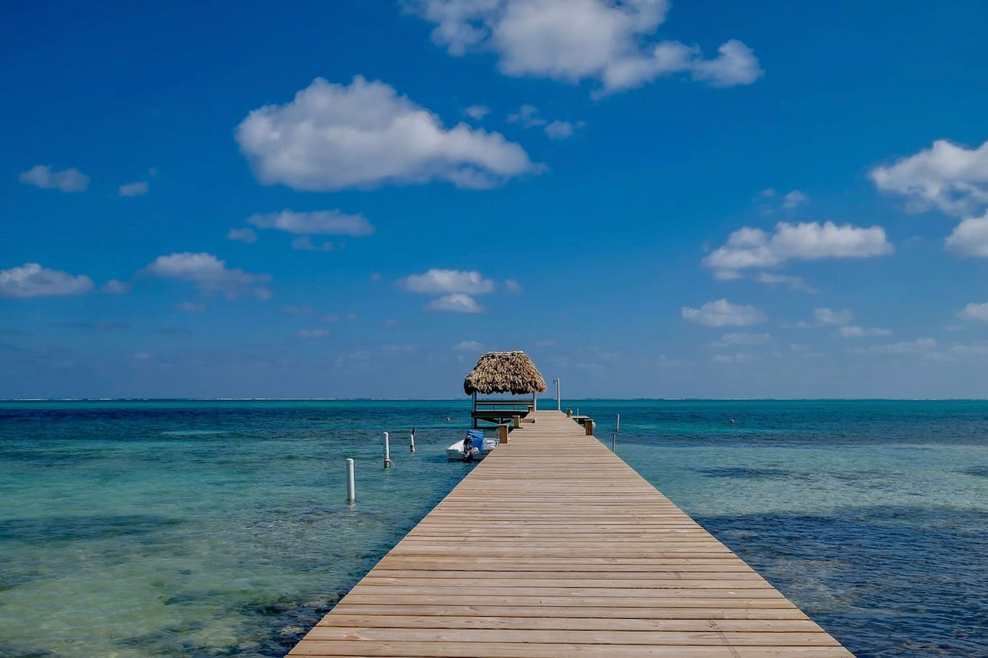 Resort dock; any tour operator will pick you up & drop you off here for excursions