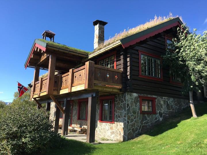 Oppdal, Vangslia Ski in/out cozy mountain cabin