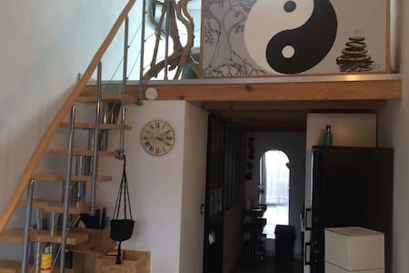 Loft Zen climatisé.