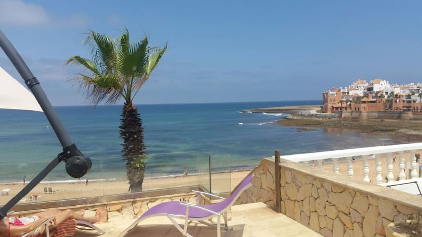 Grande Villa pied dans l'eau à Bouznika Plage - Bouznika - Talo