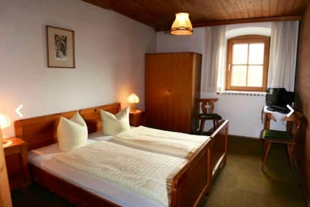 Doppel Bett 🛌 Room Nr 1 Brücke