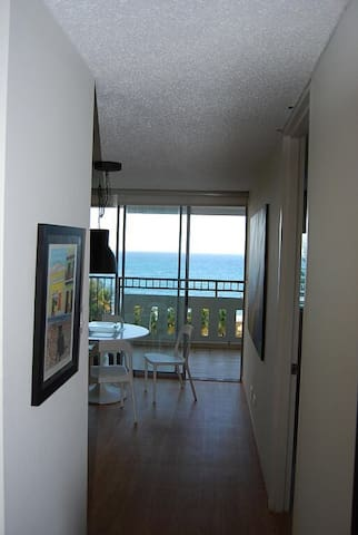 Entrance to unit - direct ocean view as soon as you open the door & step inside!