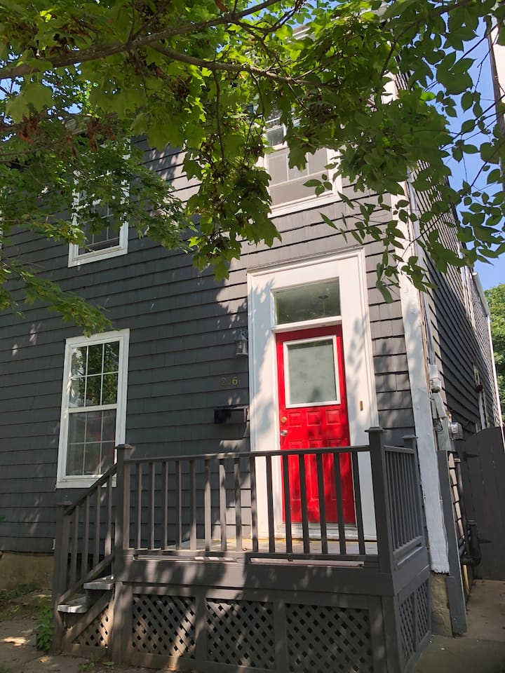 Cozy private room in vibrant North End Halifax