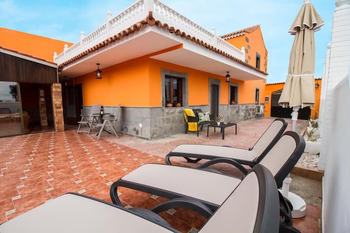 Casa Marjoes I - Terraza + barbacoa + parking
