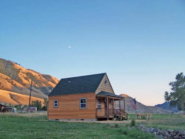 Vacation spot in  the mountains of Central Idaho