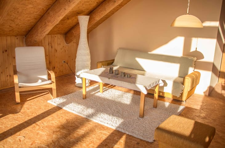 Klidný srub na Poděbradsku (Quiet cabin) - Hradčany - Cabane