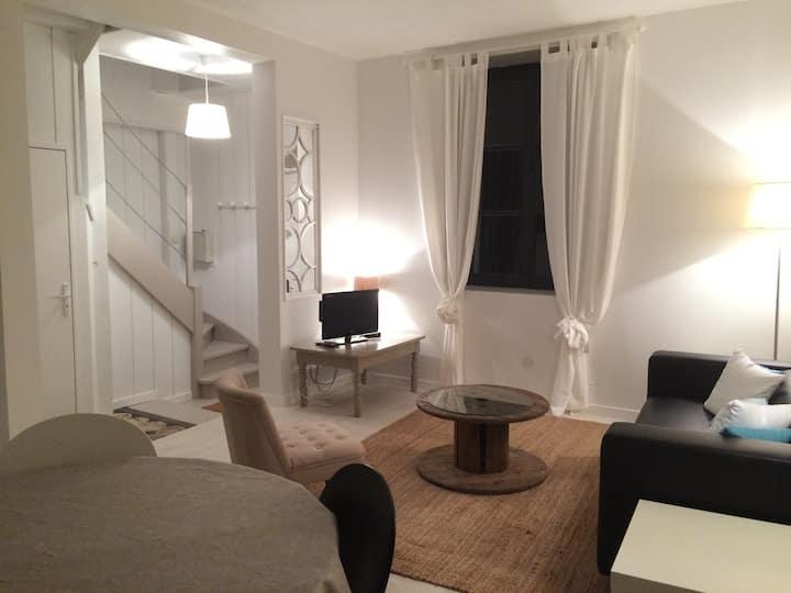 Duplex 4 personnes centre ville Meung s/Loire