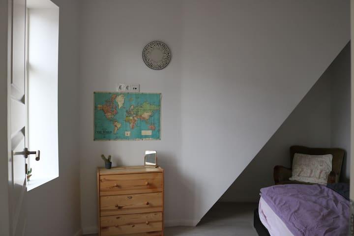 Bright cozy room in down town Reykjavík
