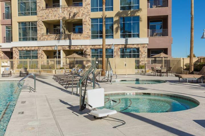 Renovated Vegas Getaway with FREE Wi-Fi, Breakfast + Shuttles   Pool Access