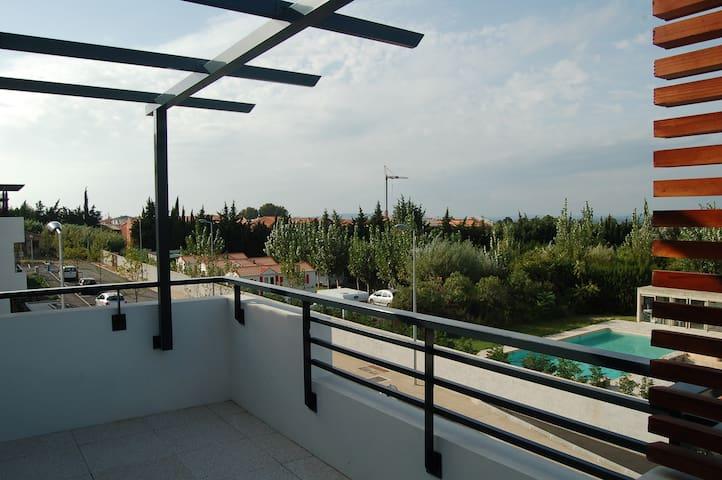 Appartement T2 40 m2 avec vue sur l'Etang-de-Berre