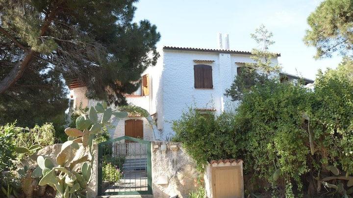 Villa Eucalipto alloggio in villa a 100 m dal mare