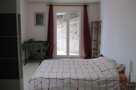 Chambre à la campagne à deux pas d'Annonay - Saint-Alban-d'Ay - Rumah