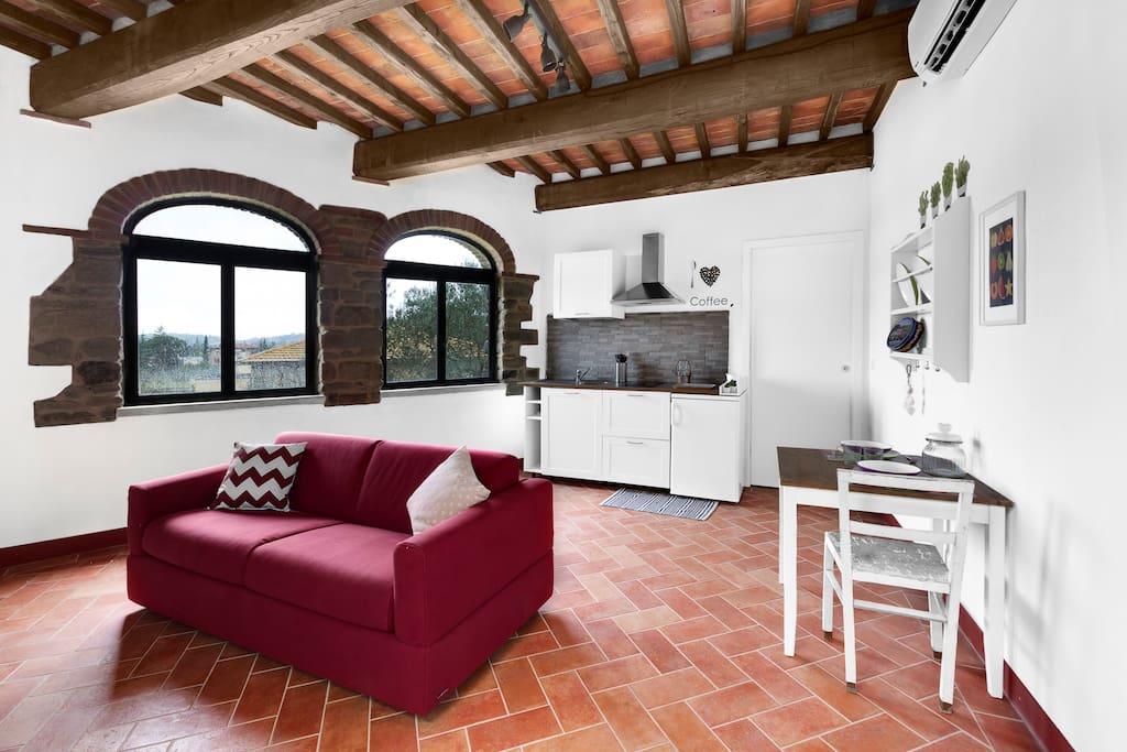 da vinci for two h user zur miete in castiglion fibocchi toskana italien. Black Bedroom Furniture Sets. Home Design Ideas