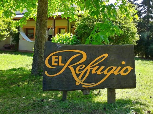 El Refugio! Lugar de mucha paz y verde a disfrutar