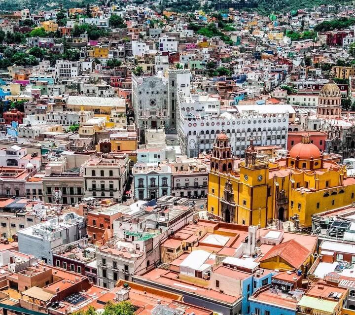Loft para 4 personas  Centro de Guanajuato  /2-108