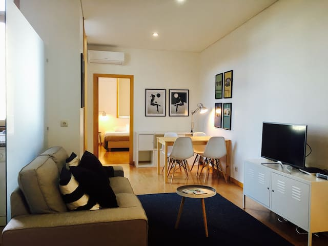 Casa Noah: bright flat at Braga´s city centre - Braga - Daire