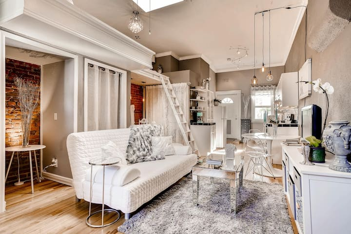 Elegant & Unique Loft Row Home