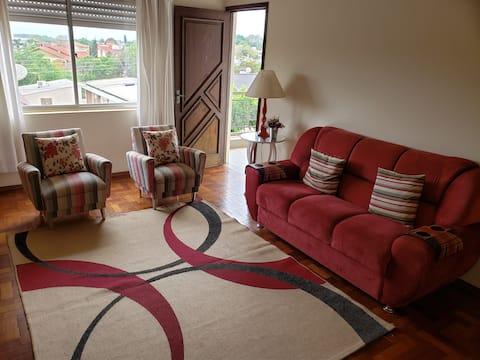 Apartamento espaçoso com 3 quartos em Santo Ângelo