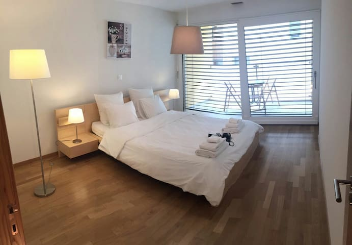 Chaleureux appartement au coeur de Martigny - Martigny - Apartemen