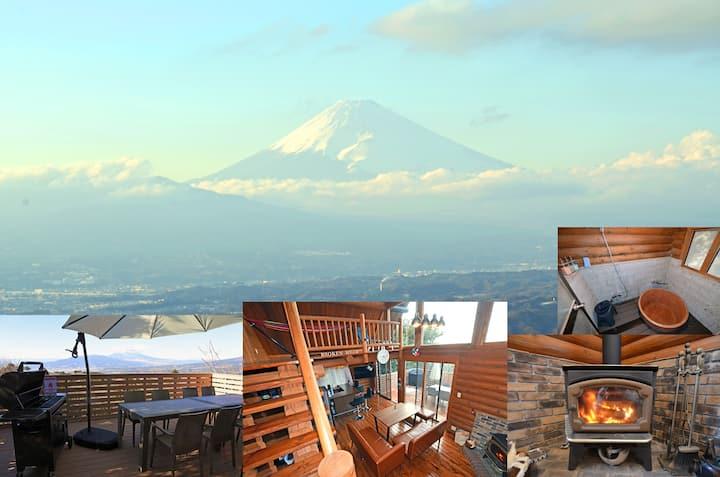 山的完美景色 富士,进入TOP3区域