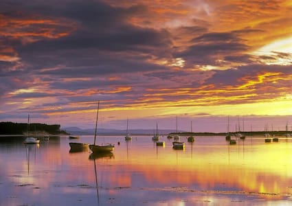 Cosy Flat one minute from the Bay. - Findhorn