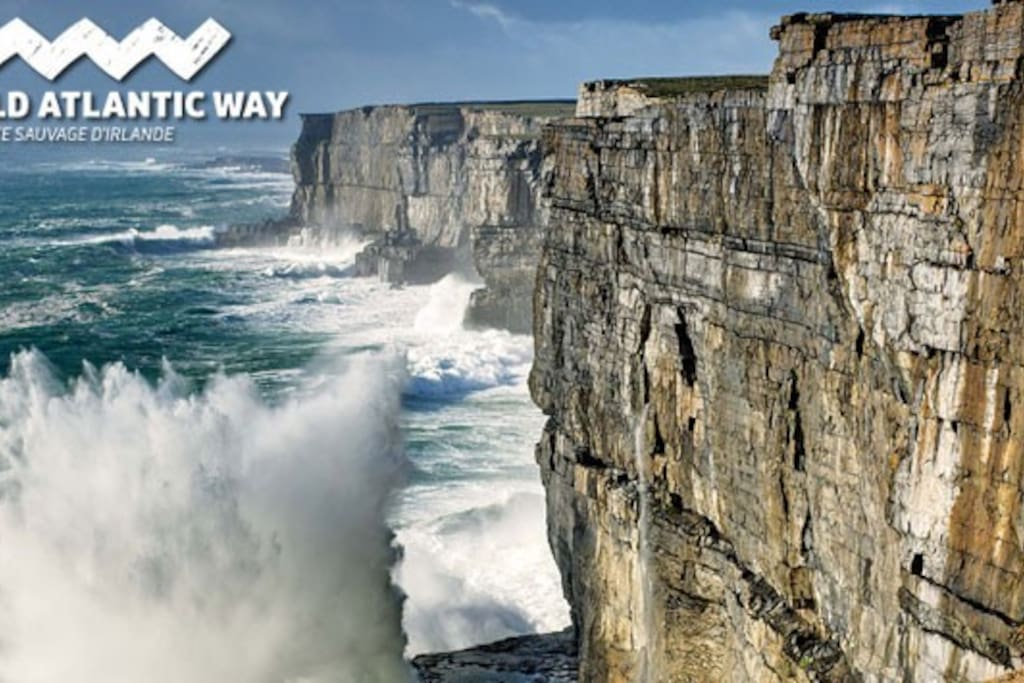 Come visit the WILD ATLANTIC WAY