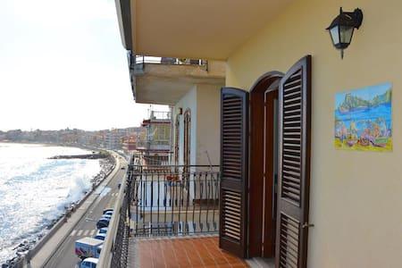Casa Camelia 2 - casa fronte mare a Giardini Naxos - Giardini Naxos - Appartement