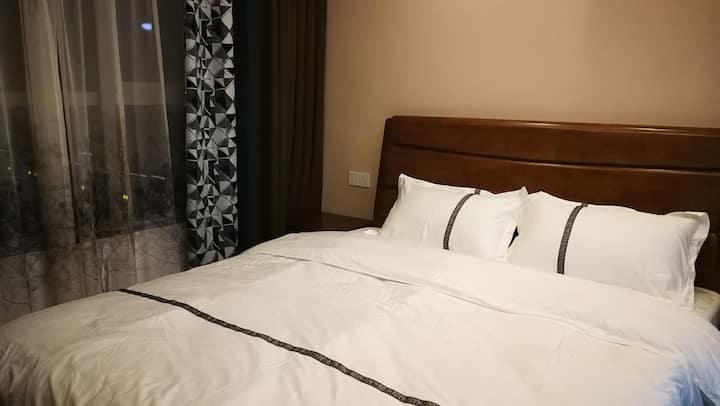 金融城北欧风酒店公寓一室一厅