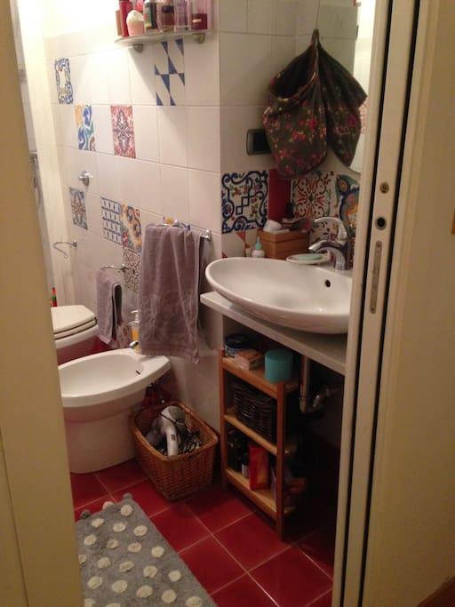 bagno per gli ospiti