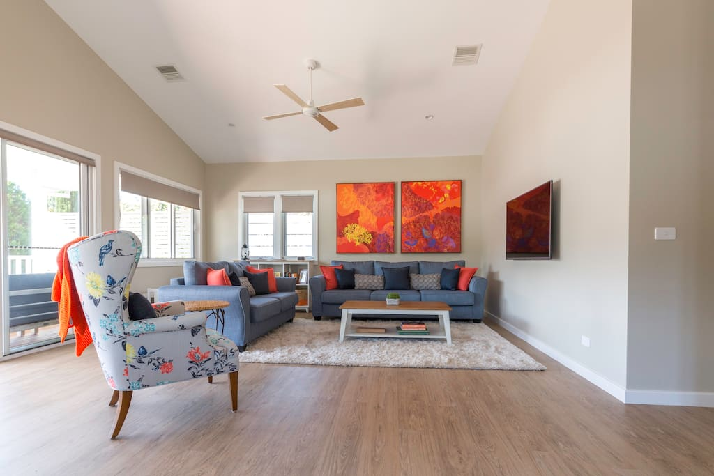Enjoy time with your friends & family in Autumn Home's spacious living area