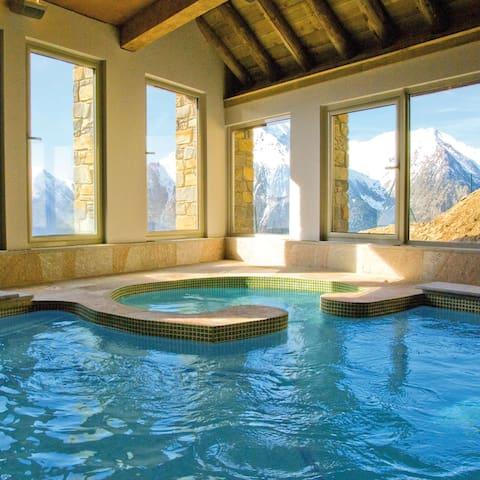 Bel Appt****sur les pistes,piscine,hammam,sauna... - Saint-Lary-Soulan - Apartament