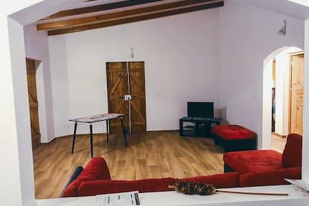 Grand salon + chambre privé -Maison  neuve Gosier3