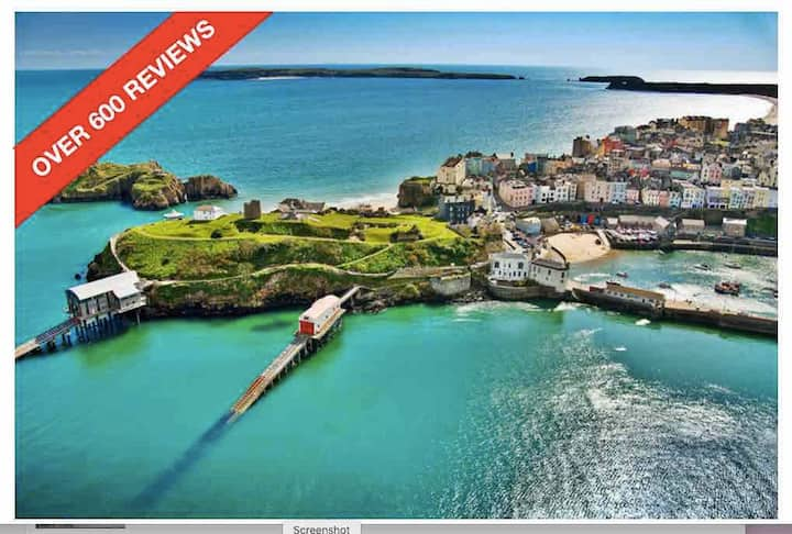 Tenby Town Centre AMAZING Location