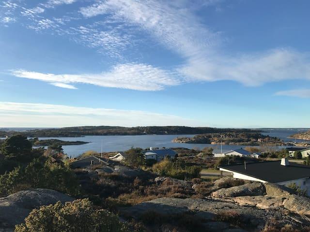 Havsnära stuga i Bohuslän