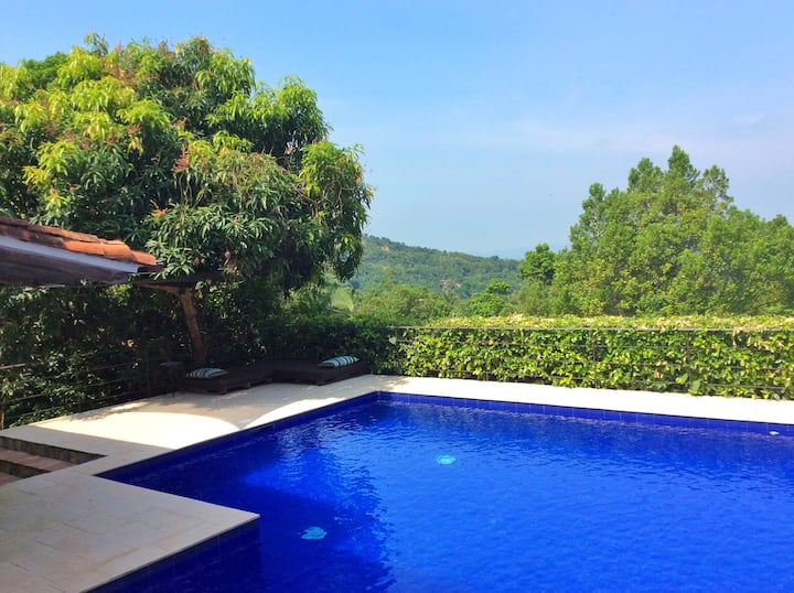 Private villa on the hills