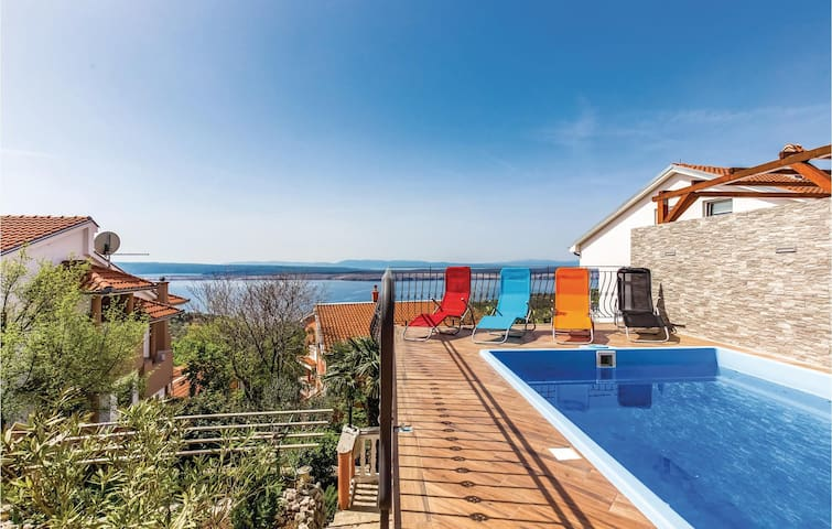 Holiday apartment with 1 bedroom on 34m² in Dramalj