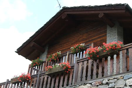 Cabin in front of Grand Paradis - Cogne