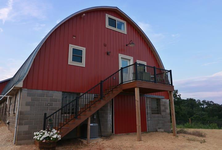 Haymow Barn House - Prairie Creek Farm