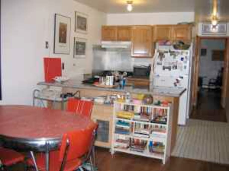 Kitchen and Dining area -