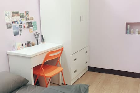 Studio with 2 private rooms - 台北市 - アパート