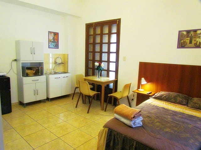 Miraflores Full Furnish Studio W/Full Bed # 4 - Lima
