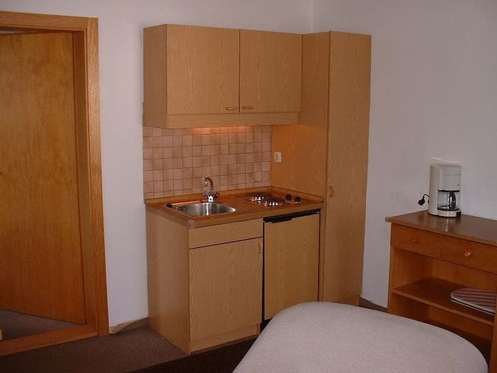 Gasthof Appartementhaus Söll'n (Lam), 3-Raum-Appartement Typ 3 für 5 Personen mit Badewanne und 2 Schlafzimmern