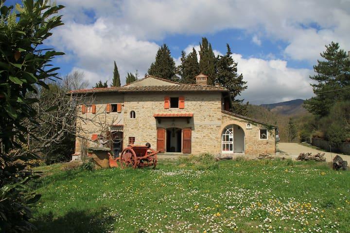 Tuscany, Farmhouse Le Càmpora up to 14 sleeps - Borgo San Lorenzo