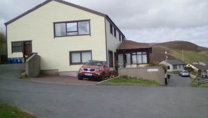 Da Tap Houss. Ladysmith  Road Scalloway Shetland
