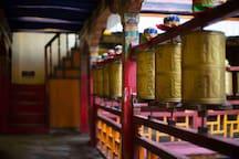 行宿赤江拉让·百年藏式官邸,双床房