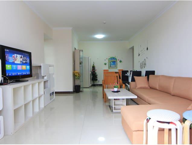 近广交会,电梯洋楼,180平方4房2卫4张床 - Guangzhou - Apartment