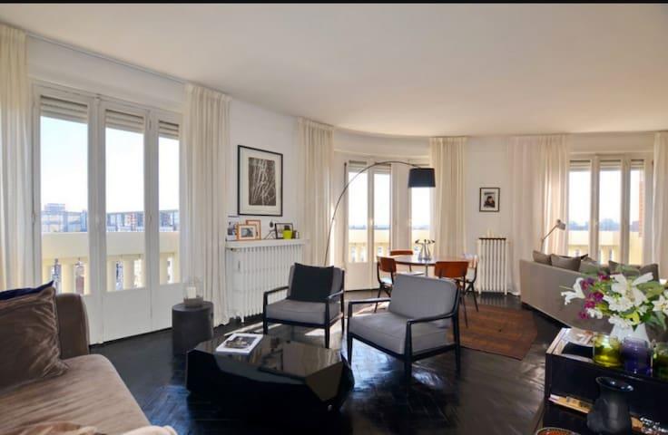 Proche Lille, Appartement 100 m2, penthouse.