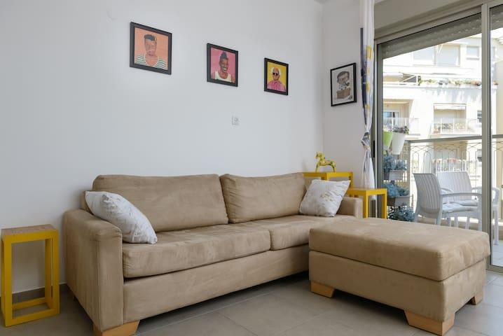 Living Room + 1st Balcony