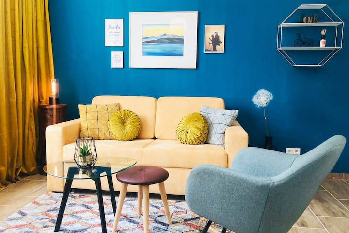 Modernes Apartment 4BR Netflix & Küche am Malerweg